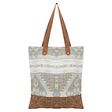 Buy East Geo Print Canvas Bag, Multi Online at johnlewis.com