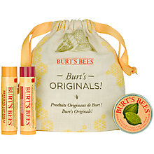 Buy Burt's Bees Burts Originals Gift Set Online at johnlewis.com