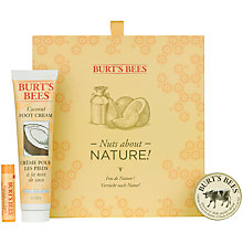 Buy Burt's Bees Nuts About Nature Lip Hand & Foot Set Online at johnlewis.com