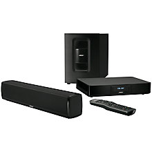 Buy Bose® CineMate 120 2.1 Compact Soundbar with Wireless Subwoofer Online at johnlewis.com