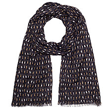 Buy John Lewis Mini Penguin Scarf, Midnight Online at johnlewis.com