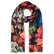 Buy John Lewis Autumn Flower Print Scarf, Multi Online at johnlewis.com