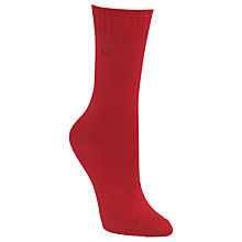 Buy Calvin Klein Soft Touch Crystal Logo Ankle Socks, Pack of 1 Online at johnlewis.com