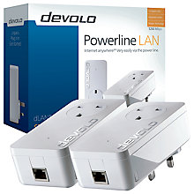 Buy Devolo dLAN 1200+ Powerline Starter Kit Online at johnlewis.com