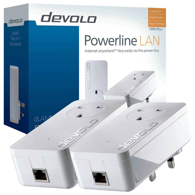 Devolo Devolo dLAN 1200+ Powerline Starter Kit