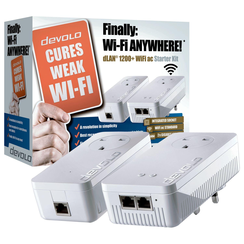 Devolo Devolo dLAN 1200+ WiFi ac Powerline Starter Kit
