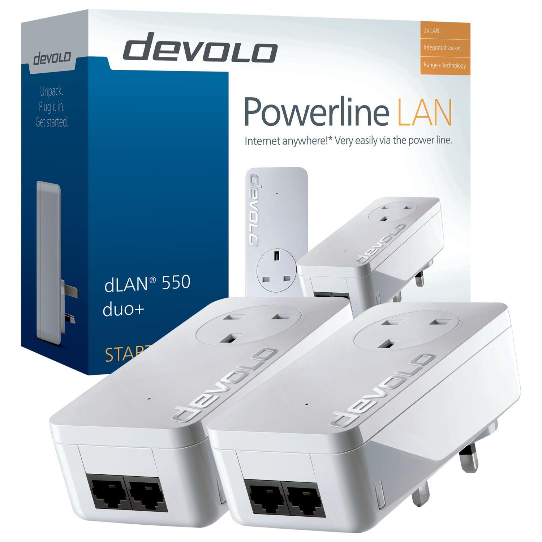 Devolo Devolo dLAN 550 duo+ Powerline Starter Kit