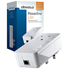 Buy Devolo dLAN 1200+ Powerline Single Adapter Online at johnlewis.com
