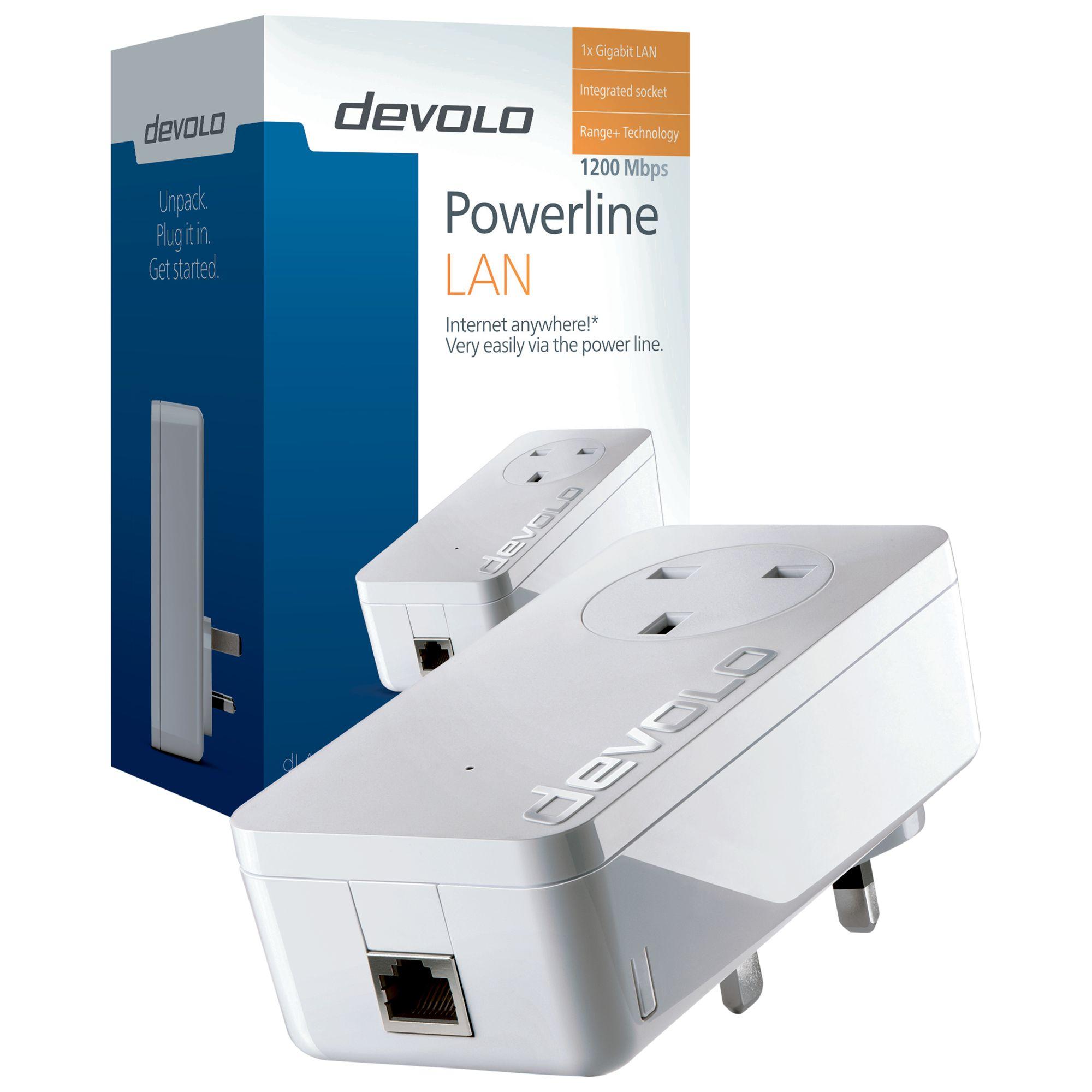 Devolo Devolo dLAN 1200+ Powerline Single Adapter