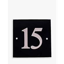 Buy The House Nameplate Company Personalised Granite House Number, 2 Digit Online at johnlewis.com
