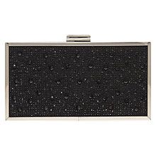 Buy Carvela Grint Satin Embellished Clutch Bag Online at johnlewis.com