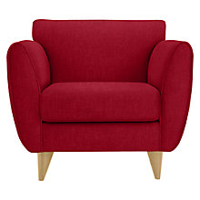 Buy John Lewis Warwick Armchair with Light Legs Online at johnlewis.com