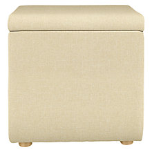 Buy John Lewis Storage Cube Footstool Online at johnlewis.com
