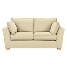 Buy John Lewis Harrison Medium Sofa, Bramfield Plain Putty Online at johnlewis.com