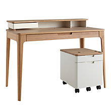 Buy Ebbe Gehl for John Lewis Mira Desk & Filing Cabinet Online at johnlewis.com