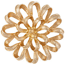 Buy Susan Caplan Vintage 1960s Sarah Coventry Brooch, Gold Online at johnlewis.com