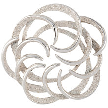 Buy Susan Caplan Vintage 1960s Sarah Coventry Tendrils Brooch, Silver Online at johnlewis.com