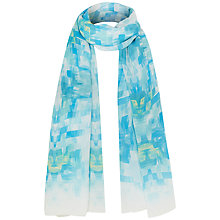 Buy Fenn Wright Manson Anemone Silk Scarf, Blue Online at johnlewis.com