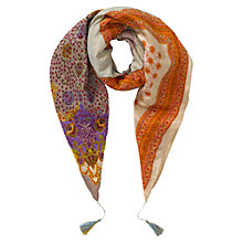 Buy East Kantha Stitch Scarf, Multi Online at johnlewis.com