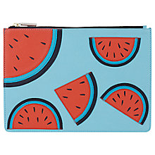 Buy Whistles Watermelon Medium Clutch Bag, Multi Online at johnlewis.com