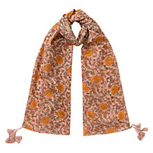 Buy East Florence Print Scarf, Neutral Online at johnlewis.com