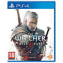 Buy The Witcher 3: Wild Hunt, PS4 Online at johnlewis.com