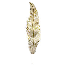 Buy John Lewis Enchantment Feather Stem, Gold Online at johnlewis.com