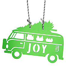 Buy John Lewis Different Perspective Acrylic Campervan Decoration, Green Online at johnlewis.com