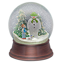 Buy Snowman and Snowdog Snowglobe Online at johnlewis.com