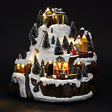 Buy Tabletop Ski Resort Scene Online at johnlewis.com