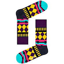 Buy Happy Socks Disco Tribe Socks, One Size Online at johnlewis.com