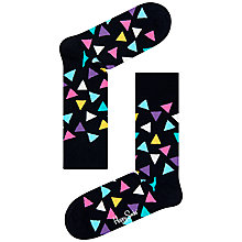 Buy Happy Socks Triangle Socks, One Size Online at johnlewis.com