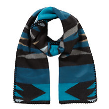 Buy JOHN LEWIS & Co. Navajo Blanket Scarf, Blue Online at johnlewis.com