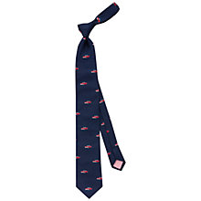 Buy Thomas Pink Convertible Sports Car Woven Tie, Navy/Red Online at johnlewis.com