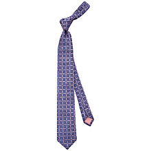 Buy Thomas Pink Wivernsea Grid Woven Tie Online at johnlewis.com