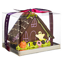 Buy James Chocolates Chocolate Spooky Haunted House, 400g Online at johnlewis.com