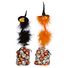 Buy Candy House Halloween Bird Pen and Milk Chocolate Set, 140g Online at johnlewis.com
