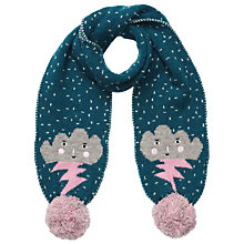Buy John Lewis Cloud Scarf, Blue Online at johnlewis.com