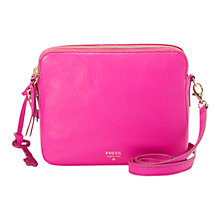 Buy Fossil Sydney Crossbody Leather Bag Online at johnlewis.com
