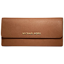Buy MICHAEL Michael Kors Jet Set Travel Saffiano Wallet Online at johnlewis.com