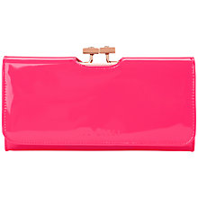 Buy Ted Baker Saimia Folding Matinee Leather Purse Online at johnlewis.com