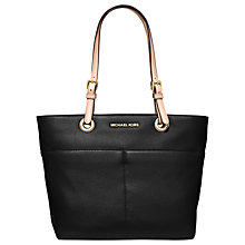 Buy MICHAEL Michael Kors Bedford Leather Pocket Tote Bag Online at johnlewis.com