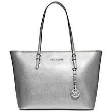 Buy MICHAEL Michael Kors Jet Set Travel Saffiano Leather Tote Bag Online at johnlewis.com