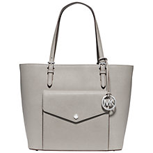 Buy MICHAEL Michael Kors Jet Set Large Leather Multi-Function Tote Bag Online at johnlewis.com