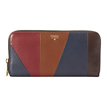 Buy Fossil Sydney Zip Clutch Online at johnlewis.com