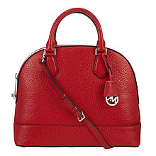 Buy MICHAEL Michael Kors Smythe Leather Satchel Bag Online at johnlewis.com