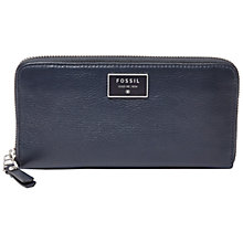 Buy Fossil Dawson Zip Clutch Online at johnlewis.com