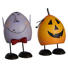 Buy John Lewis Halloween Bouncing Figures, Set of 2 Online at johnlewis.com