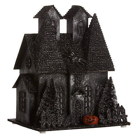 Buy John Lewis Halloween Pre-lit House, Multi Online at johnlewis.com