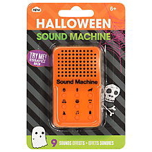 Buy NPW Halloween Mini Sound Machine Online at johnlewis.com